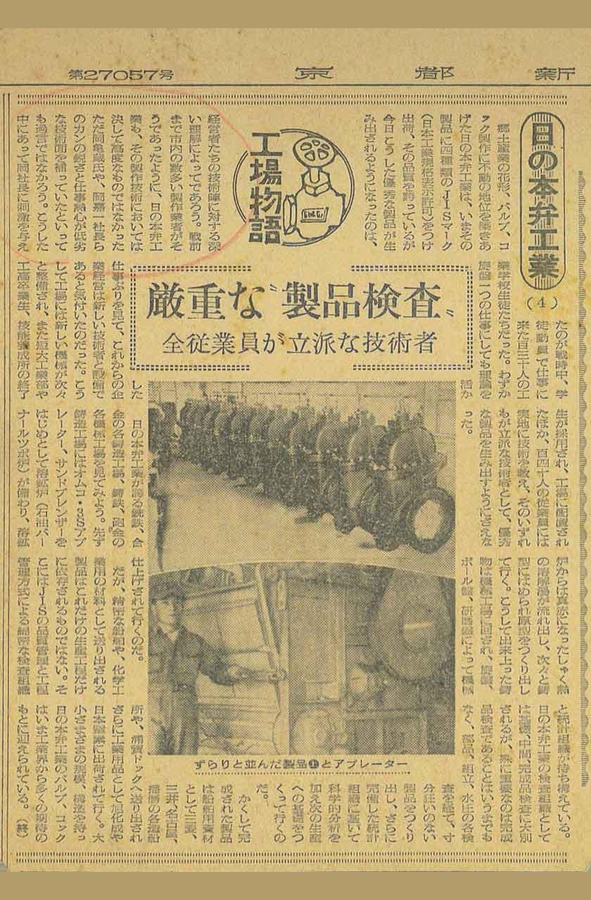 昭和32年3月 新聞記事